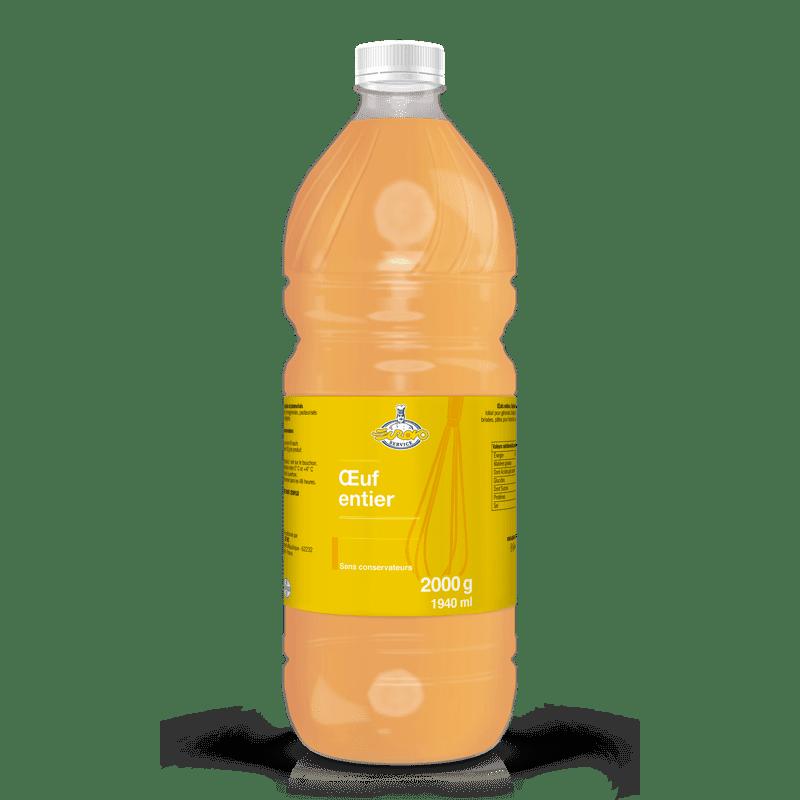 EUROVOSERVICE Oeuf entier liquide 2kg